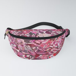 Red Blobs Fanny Pack