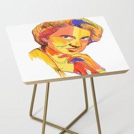 Rosalind Franklin by Aitana Pérez Side Table