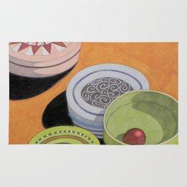 Small bowls n. 4 Rug