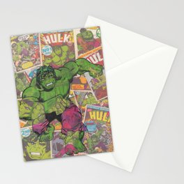 The Hulk Vintage Comic Art Stationery Cards