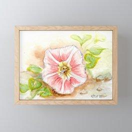Beach Morning Glory Framed Mini Art Print