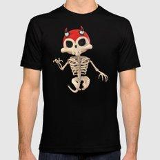 SkeleTony Mens Fitted Tee X-LARGE Black