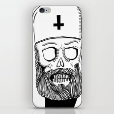 Satan bless you iPhone & iPod Skin