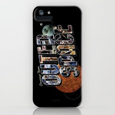 Greetings From Outer Space (color 01) iPhone (5, 5s) Slim Case