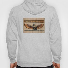 Maat: Egyptian goddess of truth, balance, order, and justice. Hoody