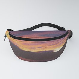 wake up & smell the campfire Fanny Pack