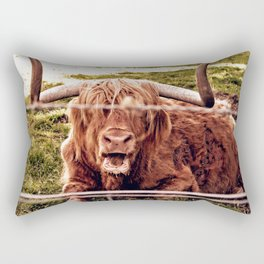Greetings from the Highlands Rectangular Pillow
