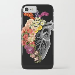 Flower Heart Spring iPhone Case