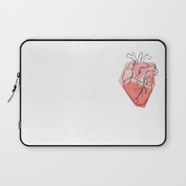 Heart Lines Laptop Sleeve