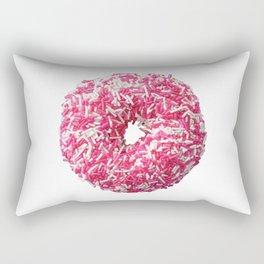 Colored Donut Rectangular Pillow