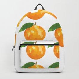 orange 3x3 pattern, fill, repeating, tiled | elegant Backpack