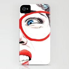 Cara de asco Slim Case iPhone (4, 4s)