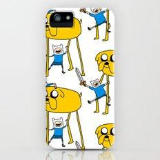 Adventure Time - Jake & Finn iPhone (5, 5s) Slim Case