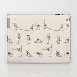 Skeleton Yoga Laptop & iPad Skin