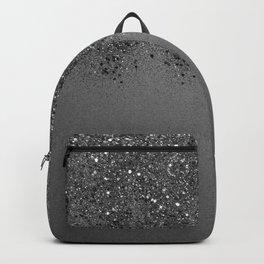 Sparkling Silver Gray Lady Glitter #2 (Faux Glitter) #shiny #decor #art #society6 Backpack