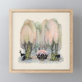 Hidden Dwelling Framed Mini Art Print