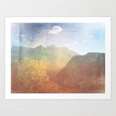 Montana Art Print
