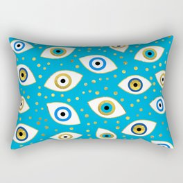 Nazar Eye Amulet pattern #5 Rectangular Pillow