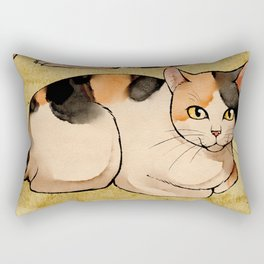 Bakeneko Rectangular Pillow