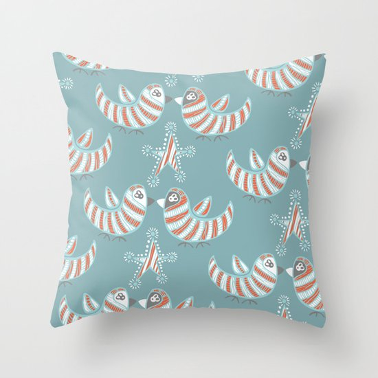 Kissmas Throw Pillow