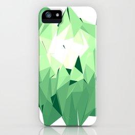 Polygon Three iPhone Case