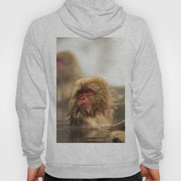 Snow Monkeys on Hot Spring Hoody