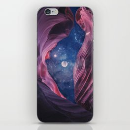 Grand Canyon with Space Collage iPhone Skin