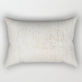 White vintage wood Rectangular Pillow