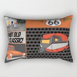 Route 66 Classic Living Rectangular Pillow