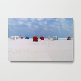 The storm has gone Metal Print