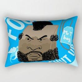 Mr T Bag Rectangular Pillow