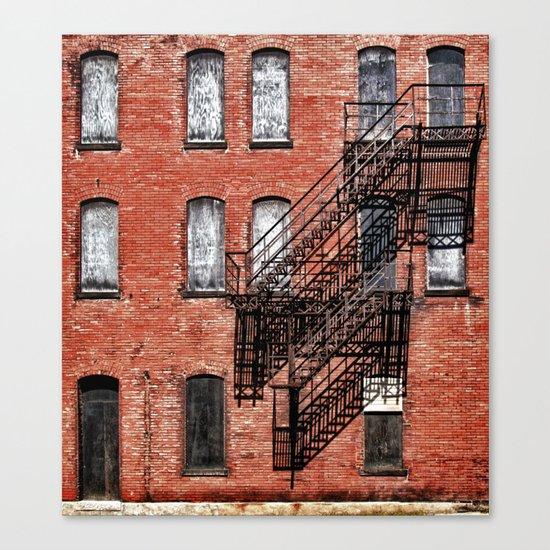 Tenement facade  Canvas Print
