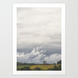 Roadside Views 2 Art Print