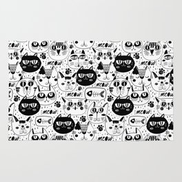 Cats Everywhere Rug