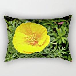Whispering Spring Flowers Rectangular Pillow
