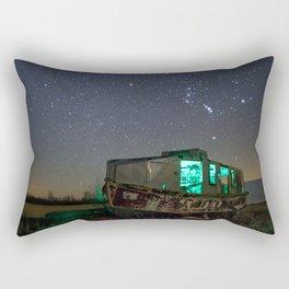 Chasing Orion Rectangular Pillow