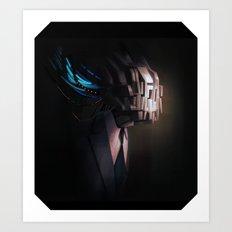 head test Art Print