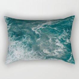 Strong tide Rectangular Pillow