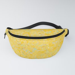 Solar Flare Molten Gold Abstract Fanny Pack
