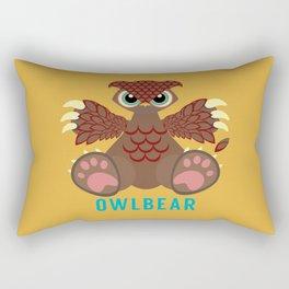 Owlbear! Rectangular Pillow
