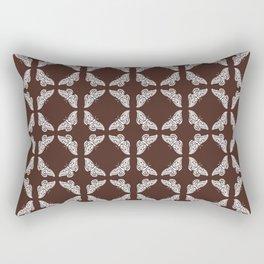 Mahogany Arts an Crafts Butterfly Rectangular Pillow