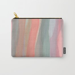 Peachy Watercolor Carry-All Pouch
