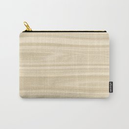 Maple Wood Texture Carry-All Pouch