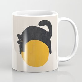 Cat with ball Coffee Mug