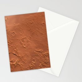 Mars Surface Stationery Cards