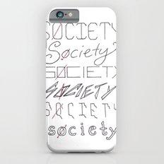 Six Societies Slim Case iPhone 6s