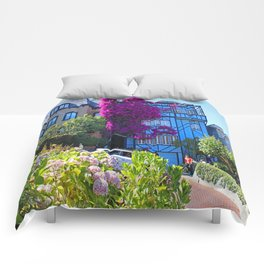 Lombard Street Comforters
