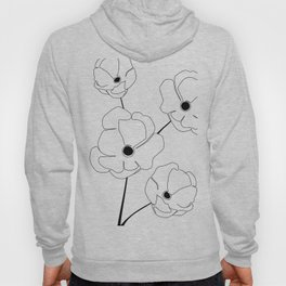 Bloomed Flower Hoody