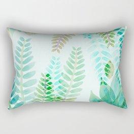 Dappled Palms I Rectangular Pillow