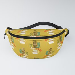 Potted Leaves Fanny Pack
